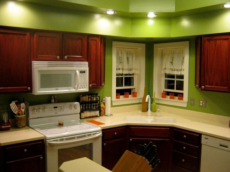 The Best Kitchen Paint Colors With Cherry Ideas On Pinterest