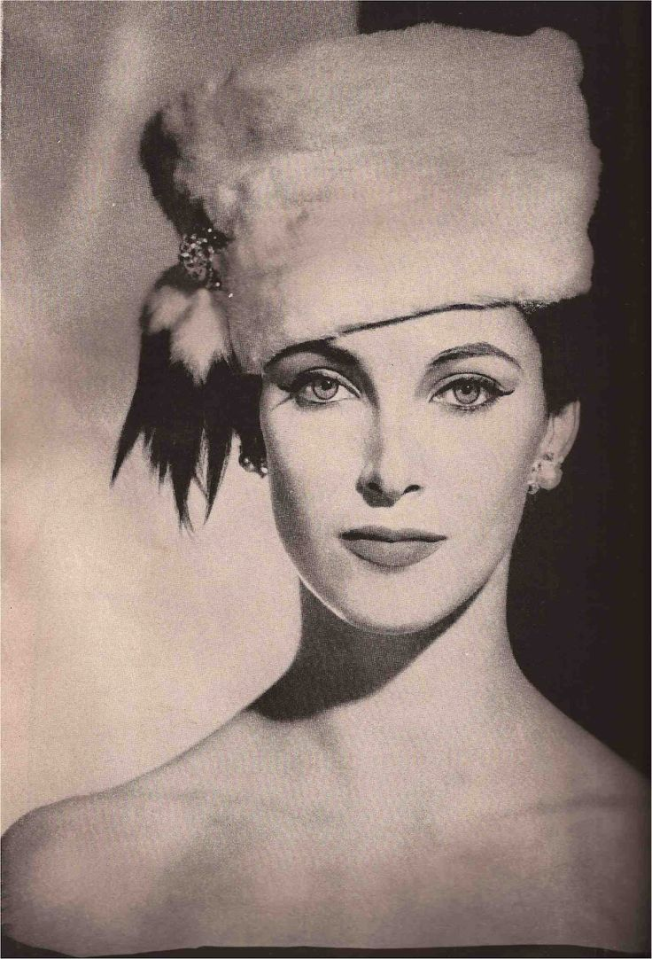 A Vintage Fashion Blog with photographs of fashions from the forties through today culled from  the top fashion magazines of the past decades. Fall 1956.