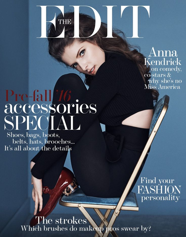 Anna Kendrick in The Edit Magazine June 30th, 2016 by Steven Pan