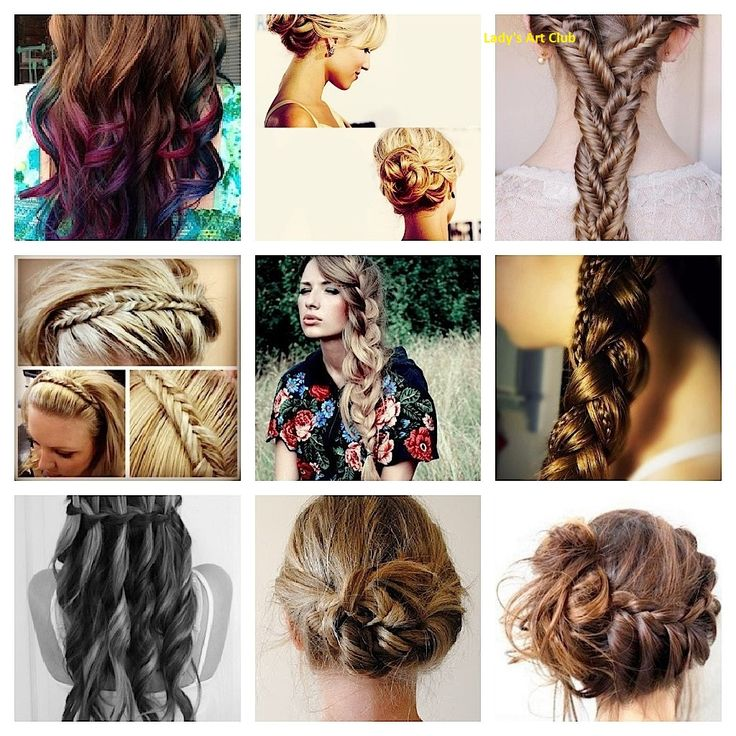 simple hairstyle party