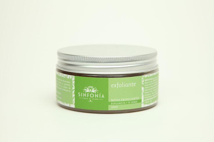 Exfoliante con semilla de albaricoque, extracto de bambú, glicerina y algas marinas