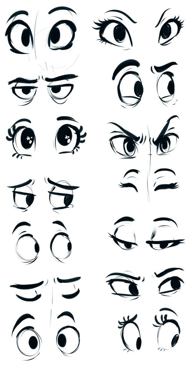 I might scrap this later, but I seem to get a lot of questions about how I draw eyes so here's these and the video of them being drawn. www.youtube.com/watch?v=d13MRh… Videos are the closest...