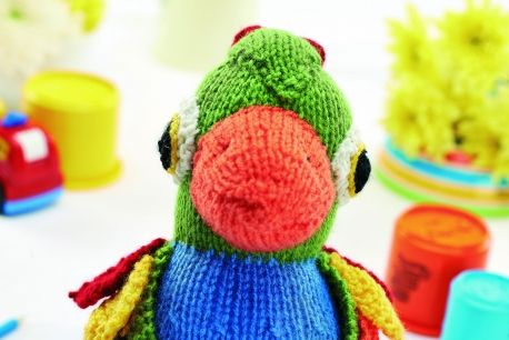 Parrot Knitting Pattern Free : Jason the Parrot Free Knitting Patterns Pinterest ...