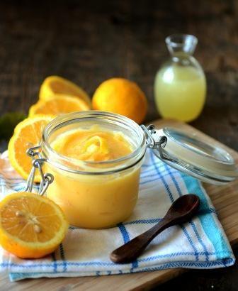 Lemon Curd Fructose free option