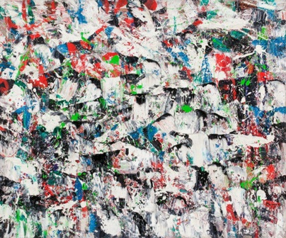 Auction of Canadian art at Sotheby's yields 3.5 million dollars  A contemporary postwar painting by Paul-Emile Borduas entitled Froissement Multicolore was sold for $663,750, including the buyer's premium.