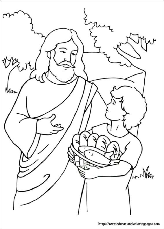 bible coloring pages free for kids - Christian Coloring Pages