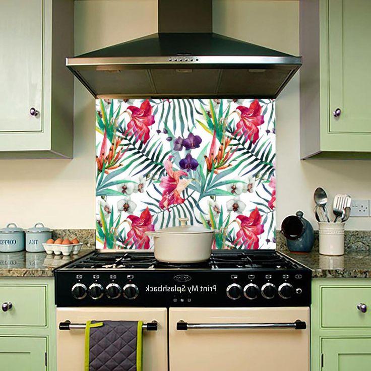 Bunte Tapete Für Küche