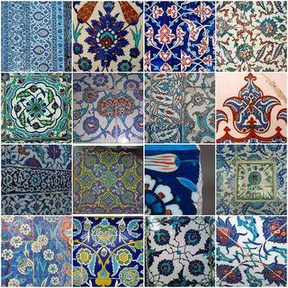 #ThrowbackThursday - a sample of Iznik tile. The area is one of the most historically important in the Aegean region for its relics from Roman, Byzantium, and early Ottoman times.