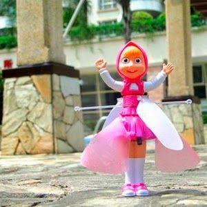 """Летающая """"Волшебная Маша"""" - усовершенствованный аналог Летающей Феи, парящей в воздухе.Знаменитая Маша теперь будет и у Вашего ребенка! Озорная Маша, которая действительно летает под звучание веселой детской песни на русском языке. http://mashcha.pokupkaage.ru/"""
