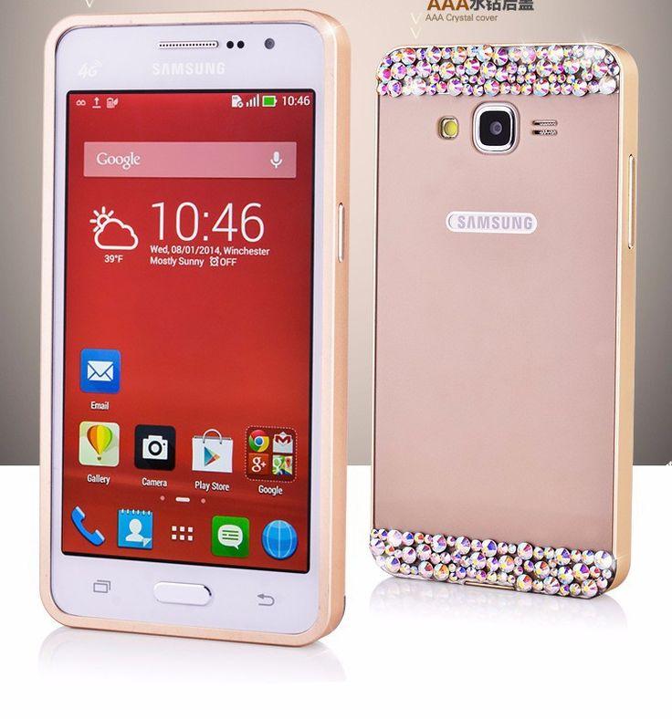 samsung grand prime accessories | Metal Bumper Frame Slim Case Cover For Samsung Galaxy Grand Prime ...