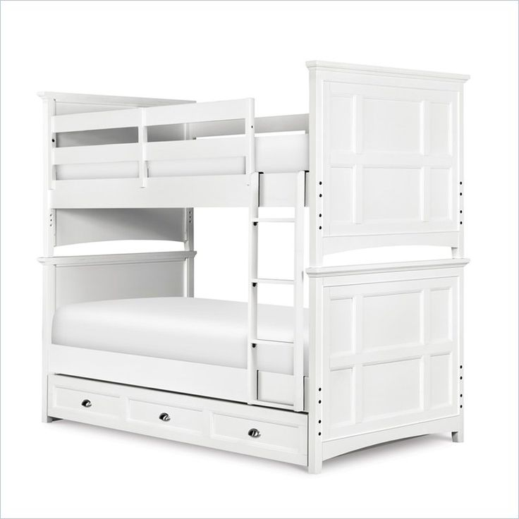 Bunk Bed White Twin