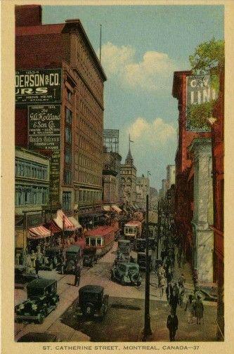 1920's St Catherine street