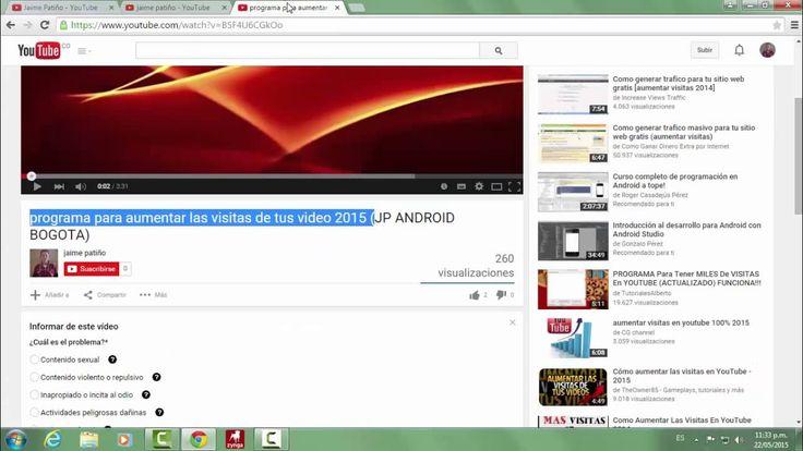 Alerta me están suplantando el canal de YouTube Jaime Patiño