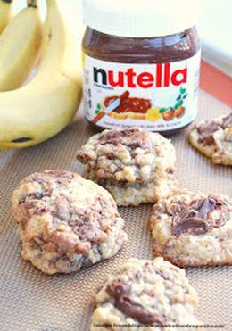 Banana Nutella Lactation Cookies