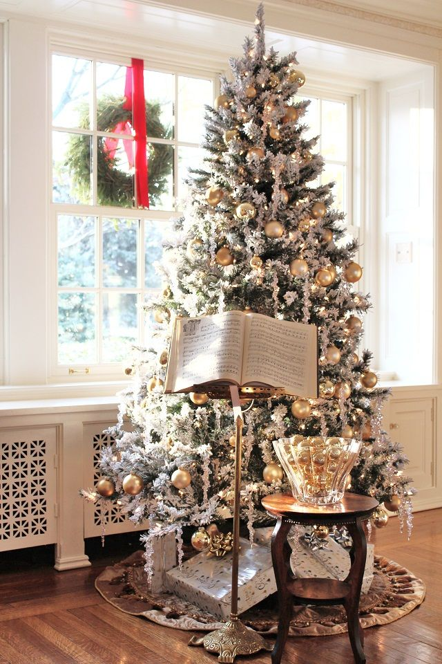 Color outside the lines white christmas lewiston tour for White christmas tree pinterest