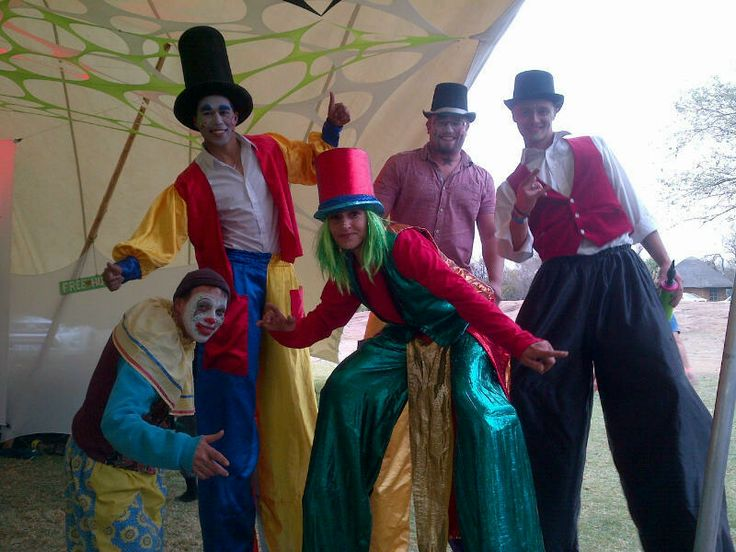 some of our latest carnival characters