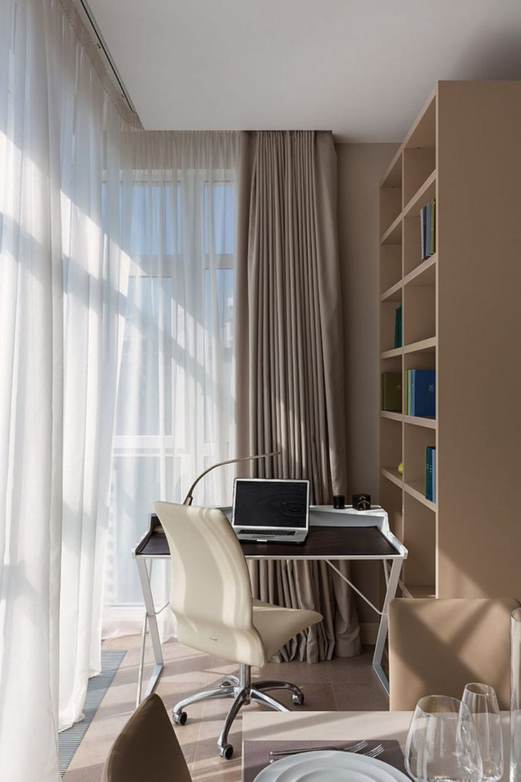 Csokoládébarna, bézs, szürke és fa - két elegáns lakás kellemes színekkel. #dolgozosarok