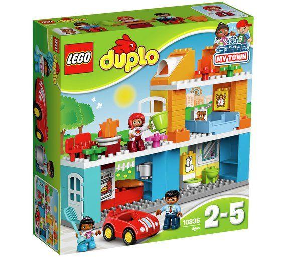 Buy LEGO DUPLO Family House - 10835 at Argos.co.uk, visit Argos.co.uk to shop online for LEGO, LEGO and construction toys, Toys