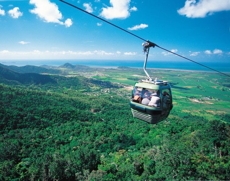 The Skyrail Rainforest Cableway experience spans 7.5kms over Australia's pristine tropical rainforests from $50  Visit http://www.fnqapartments.com/tour-skyrail/area-cairns/ #cairnstourpackages