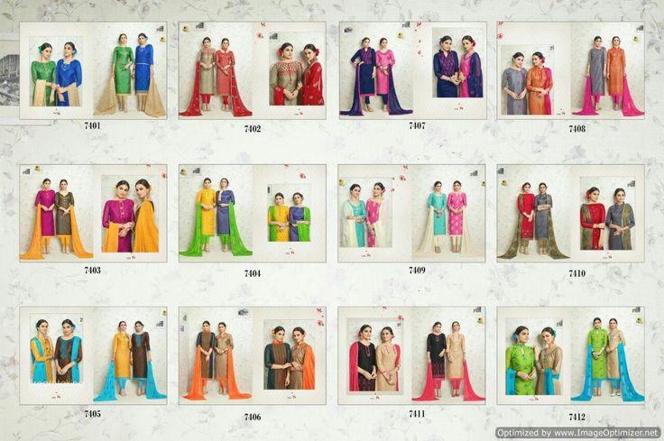 Buy Designer One & only Dress Material