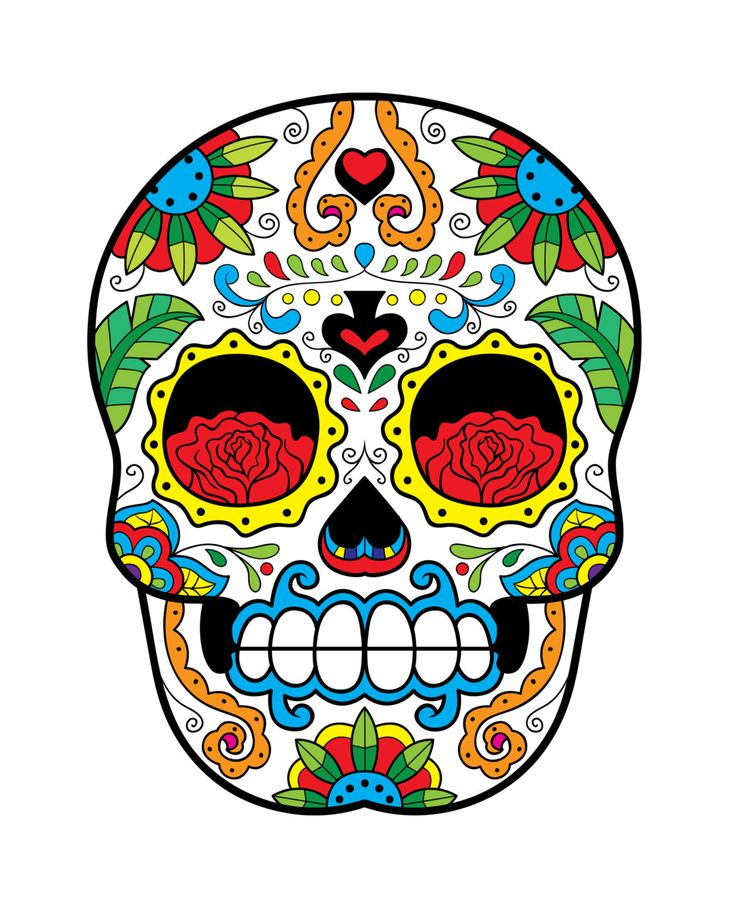 Sugar Skull Print - Home Décor - Sweetness of Life ...