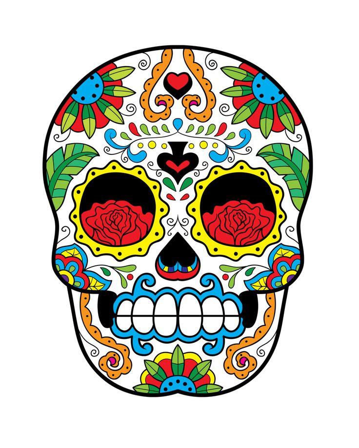Sugar Skull Print - Home Décor - Sweetness of Life ...