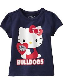 Hello Kitty® College Team Tees for Baby: Gonzaga Hello, Girl, Cora Kitty, Team Tees, Baby, Hello Kitty