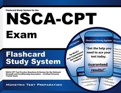 You can succeed on the NSCA-CPT test and pass the NSCA-Certified Personal Trainer (CPT) Exam by learning critical concepts on the test so that you are prepared for as many questions as possible.