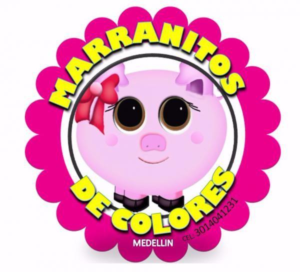 """""""MARRANITOS DE COLORES""""... AHORRANDO DE FORMA DIVERTIDA"""