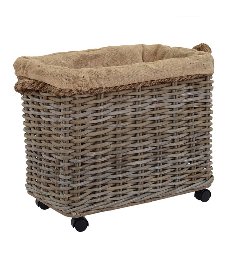 Take a look at this Jute-Lined Storage Basket today!