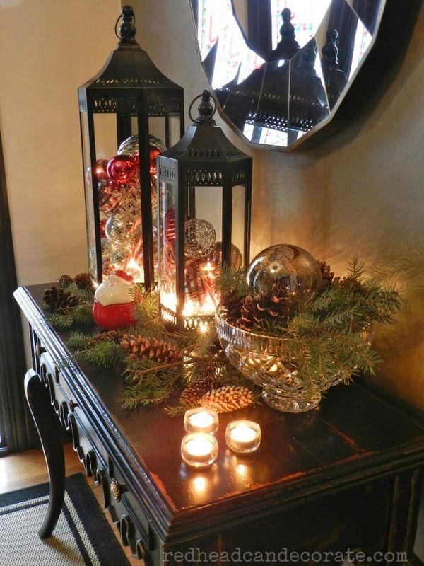 Pottery Barn Christmas Decor Knock Off