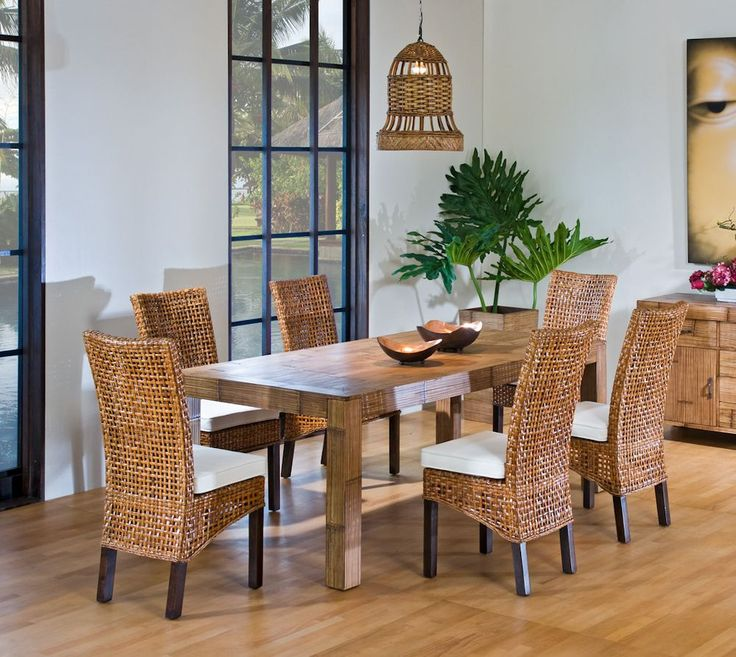 2019 Indoor Rattan Dining Chairs