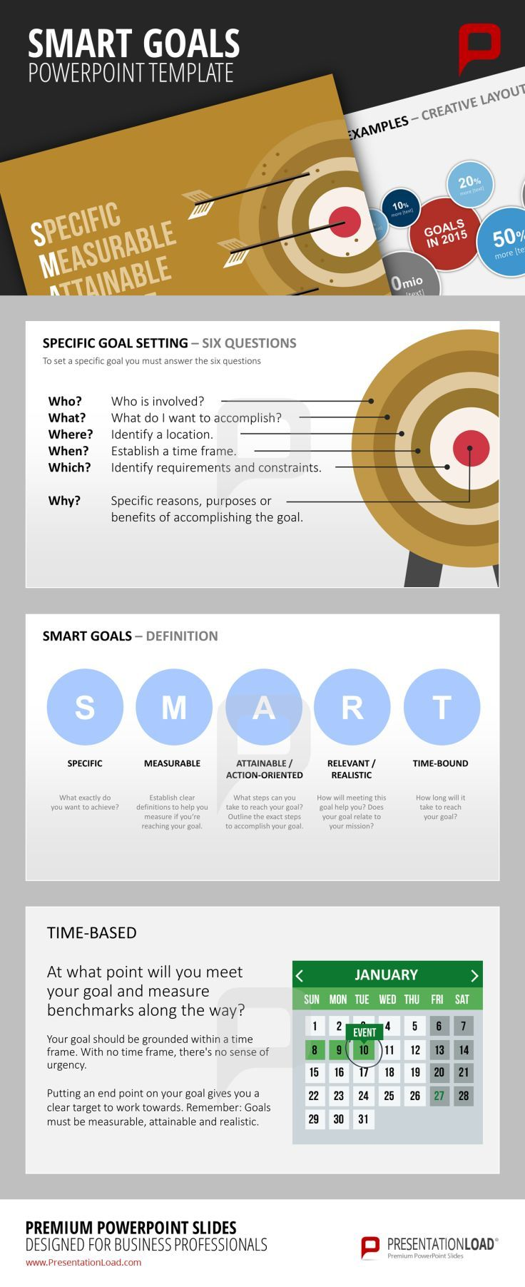 17 best images about smart goals powerpoint templates on pinterest goals template graphics. Black Bedroom Furniture Sets. Home Design Ideas