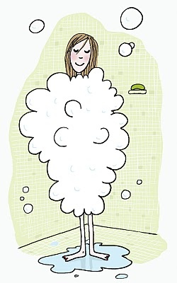 Soledad fille sous la douche soledad bravi - Photo femme sous la douche ...