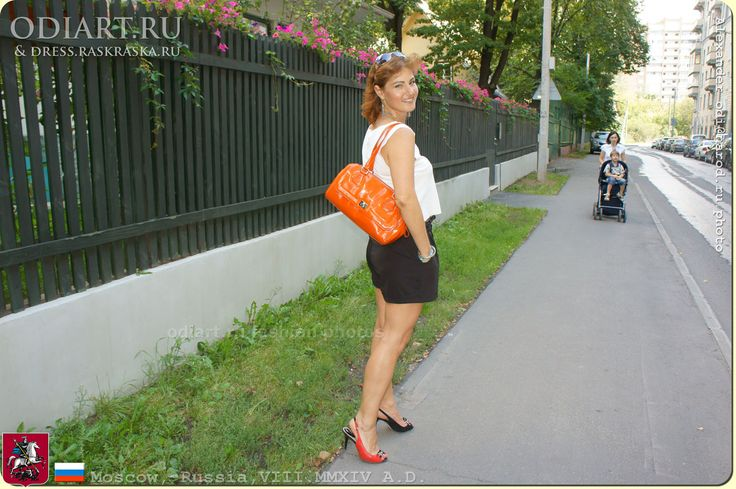 фото стройных женщин на ули