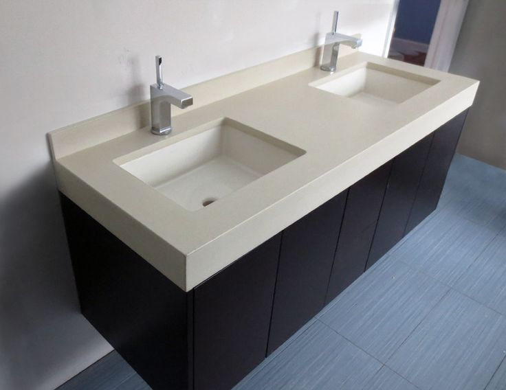 Trueform Concreteu0027s Collection Of Custom Concrete Bathroom Vanities And  Vanity Sinks With Bases. Vanities Can Be Customized To Fit Your Project ...