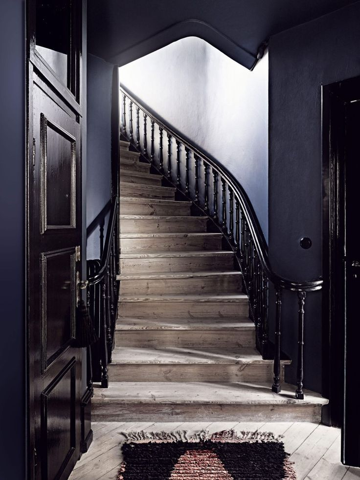the perfect shade of deep navy blue