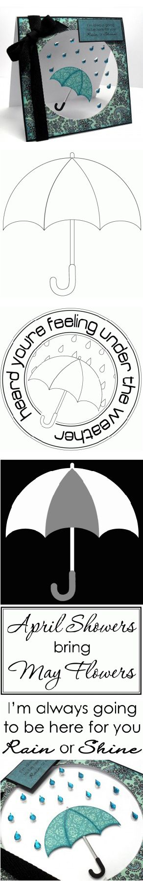 rain or shine umbrella -- free digital set (with cut files) from Birds Cards -- http://www.birdscards.com/?p=2288