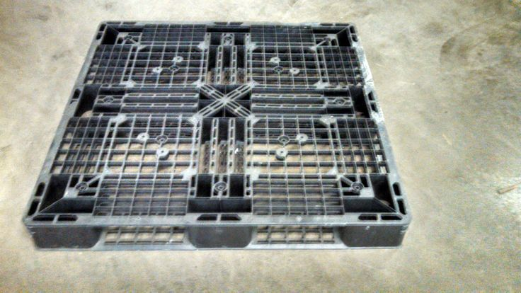 "You are buying one 43"" x 43"" Plastic Pallet. These pallets are great for shipping overseas. This item comes as seen in the pictures. If you have any questions please feel free to contact us."