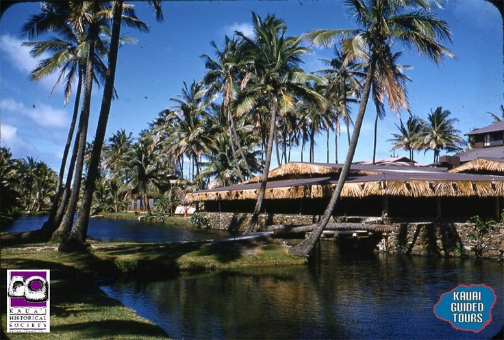 Coco Palms hotel on Kauai in 1958.