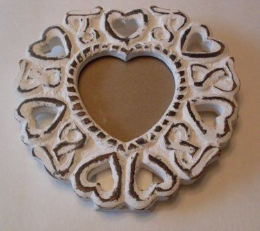Paris Apartment Shabby Chic Heart Frame French Connection by TheWAREHOUSEShelf on Etsy https://www.etsy.com/listing/154223306/paris-apartment-shabby-chic-heart-frame