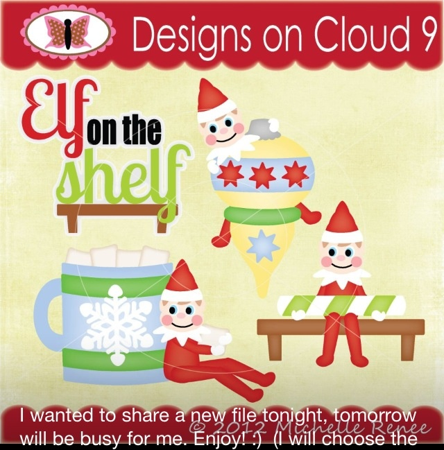 Elf on the shelfScrapbook Ideas, Scrapbook Christmas, Shelf Ideas