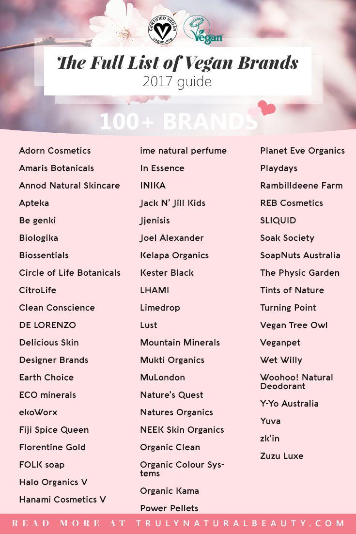 Best 20+ Cosmetic brands list ideas on Pinterest   Makeup brands ...
