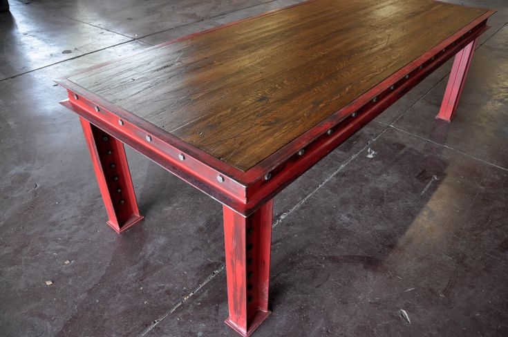 New table design by Vintage Industrial