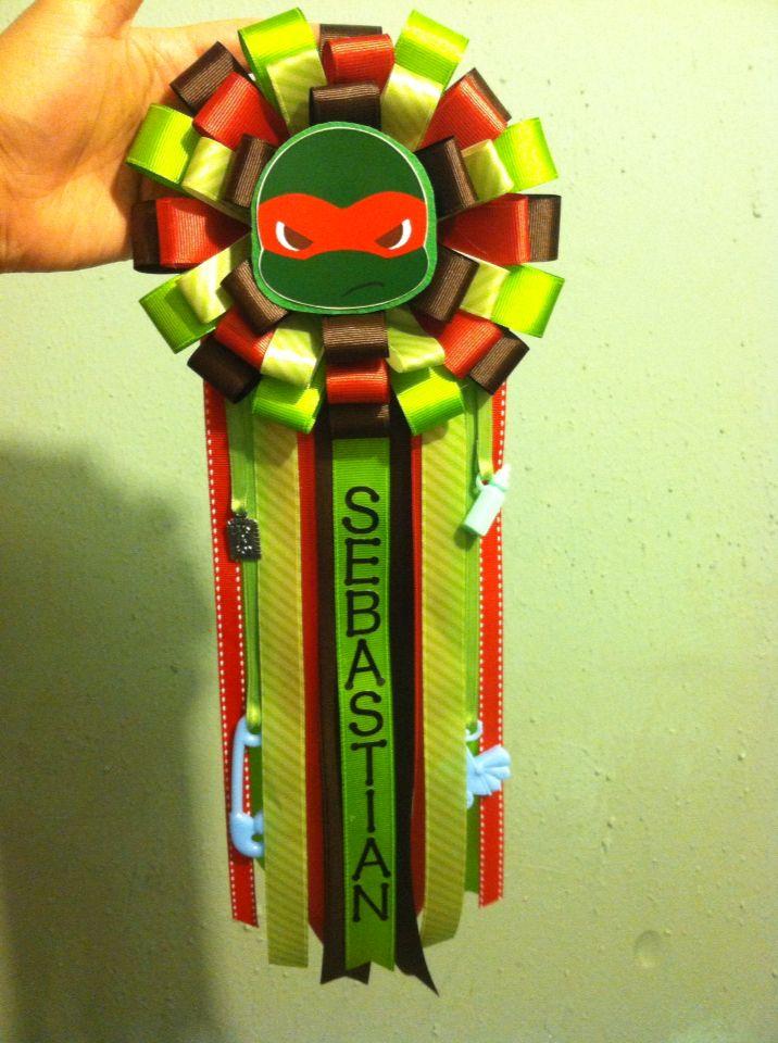Ninja Turtles Corsage. Man ShowerTurtle BabyTurtle ...