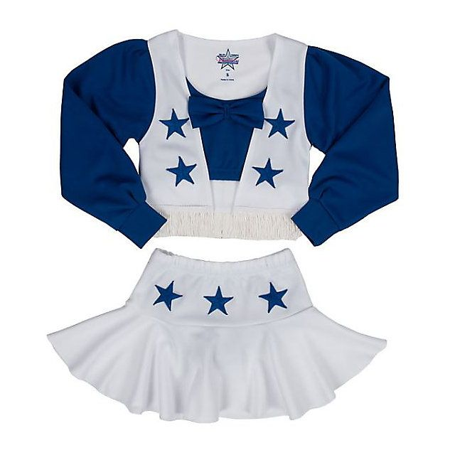 Dallas Cowboys Cheerleader Girls Cheer Uniform | Girls | Kids | Cowboys Catalog | ShopCowboys