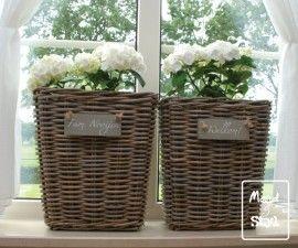 Mooie manden voor in de vensterbank!