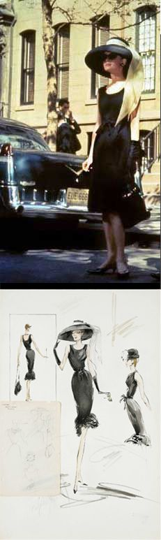 Audrey Hepburn in 'Breakfast at Tiffany's' (1961). Costume Designer: Edith Head.  Not Hubert Givenchy?  Never knew that.