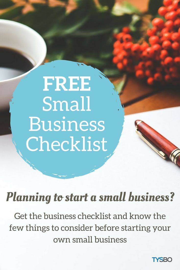 Know a few things to consider before starting your own small business. Grab this FREE printable checklist that you can print at home
