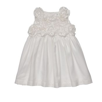 We found baby girl's blessing dress at the Carter's outlet in Vegas! Just need a sweater...